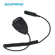 Baofeng UV-9R Динамик микрофон Водонепроницаемый двухстороннее радио аксессуары для UV-9R плюс GT-3WP UV-5S Retevis RT6 иди и болтай Walkie Talkie