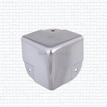 Freies verschiffen metall eckwinkel 40 gepäck taschen teil hardware airbox ecke woodenbox sound stereo ecke möbel ecke