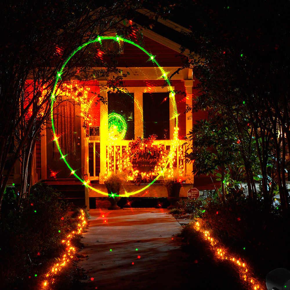 Tomshine лазер UL GS сертификат светодио дный светодиодный проектор Газон лампа свет Рождество прожектор 3 светлый цвет динамический устойчивый узор 6 часов