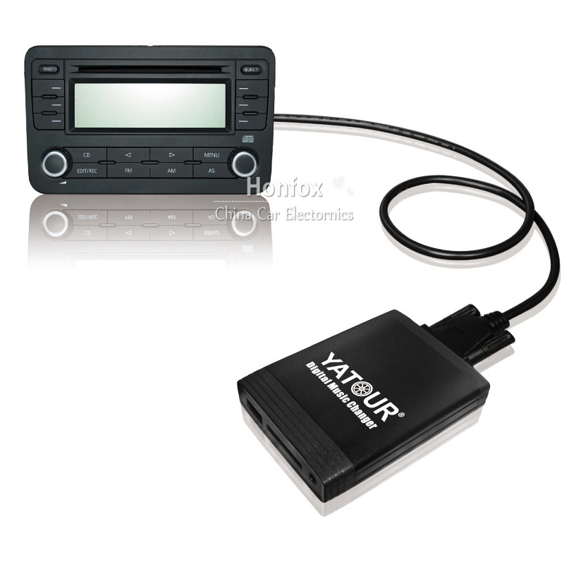 Yatour YT-M06 Digital music Changer For 1991-2006 BMW 3pin+6pin E46 E39 E38 X5 USB MP3 SD AUX adapter BT interface