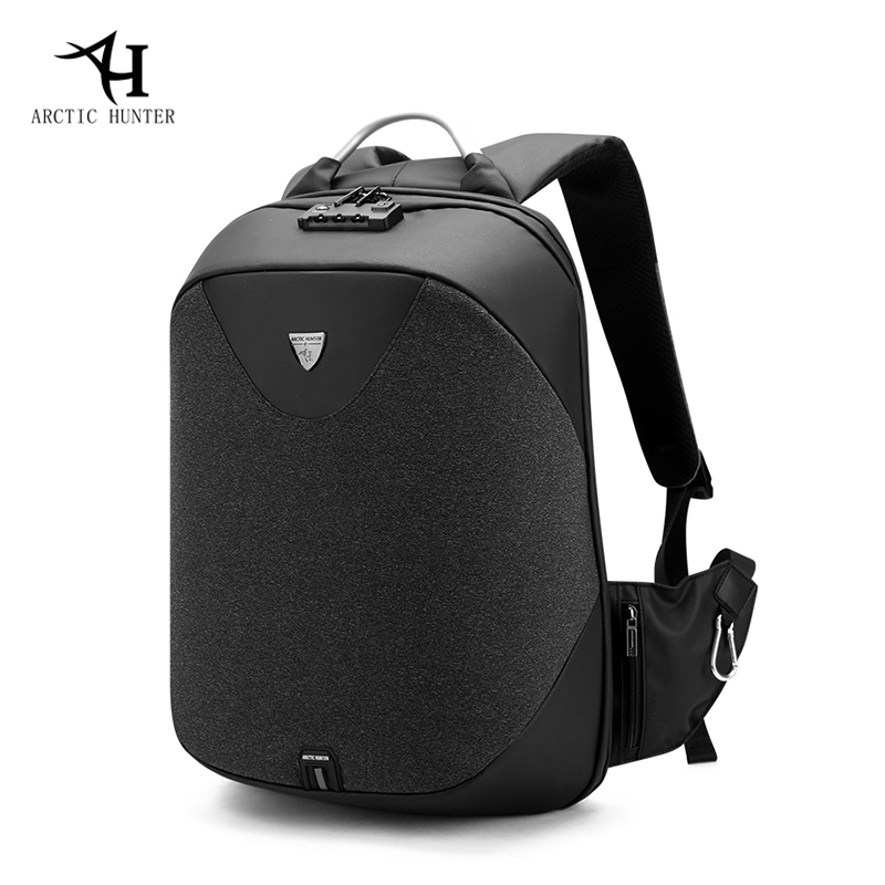 Arctic Hunter Multifunction Usb Charge Backpack Tsa Lock Anti-theft Laptop Backpacks Fashion Mochila Travel Back Pack Men/women