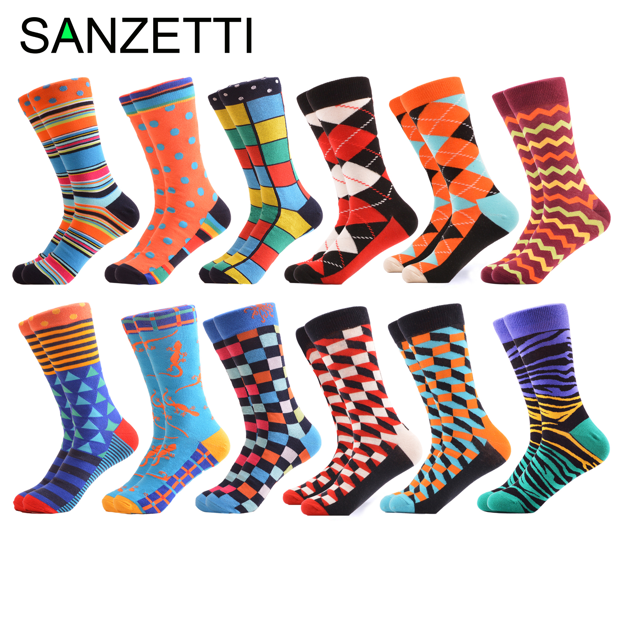 Peonfly Colorful Mens Funny Combed Cotton Crew Dress Wedding Socks Causal Skateboard Socks Novelty Happy Socks Us 7-11 Underwear & Sleepwears