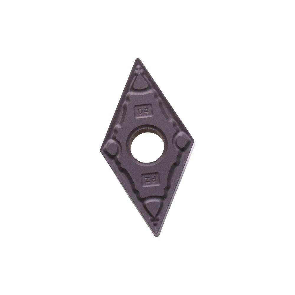 10 Pcs DNMG150404 DNMG150408 PZ D2025 Carbide Turning Inserts for Lathe Holder MDJNR MDUNR PDSNR Cut