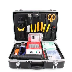 Image 1 - Fiber Tool Kit KEVLAR Scissor KC 1 IDEAL 45 162 Buffer tube stripper Polish Film fiber microscope Hot Oven Ftth Tool