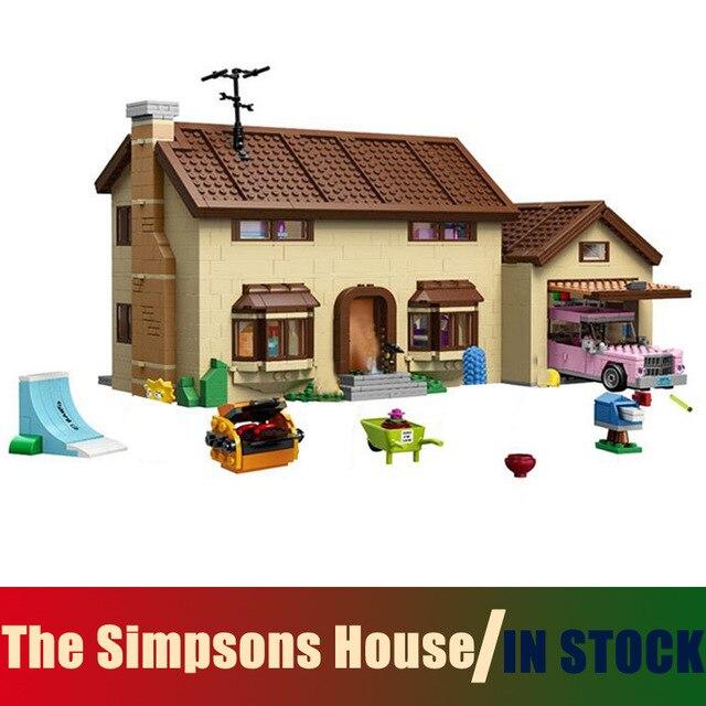Compatible Lego LE Simpsons Série 71006 Modèles Bâtiment Jouet Le Simpsons Maison 2575 pcs 16005 Blocs de Construction Jouets & Loisirs