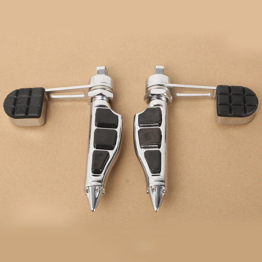 Motorcycle Footpegs Foot Rests For Harley Dyna Low Rider