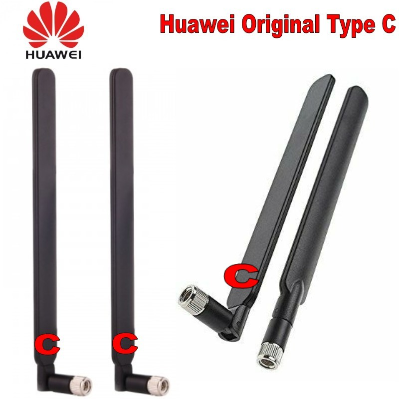 2pcs/set Type C 4G Antenna SMA Male For 4G LTE Router External Antenna For Huawei B593 E5186 B315 B310 698-2700MHz