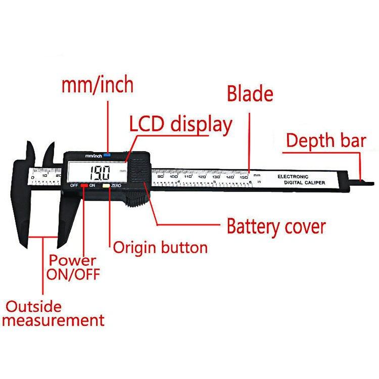 Diagram Of Digital Vernier Caliper Home Wiring Diagrams