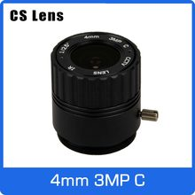 3 Megapixel 4 MM CS Mount Fixed 1/2. 5 Inch Lensa CCTV untuk HD 1080 P AHD Kamera Ip Box Camera Explosion Proof Camera Gratis Pengiriman(China)