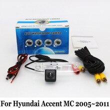 Проводной Или Беспроводной Автомобильная Камера Заднего вида Для Hyundai Sonata NF/Sonica 2004 ~ 2010/HD Широкоугольный Объектив CCD Камера Ночного Видения