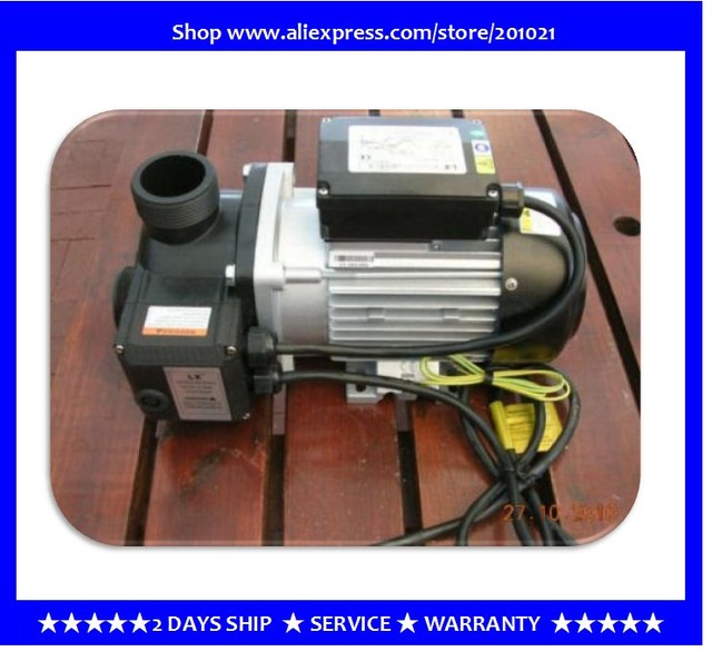 Spa Pump With Heater,1.0HP With 1.5kw Heater, Whirlpool Bathtub Pump With