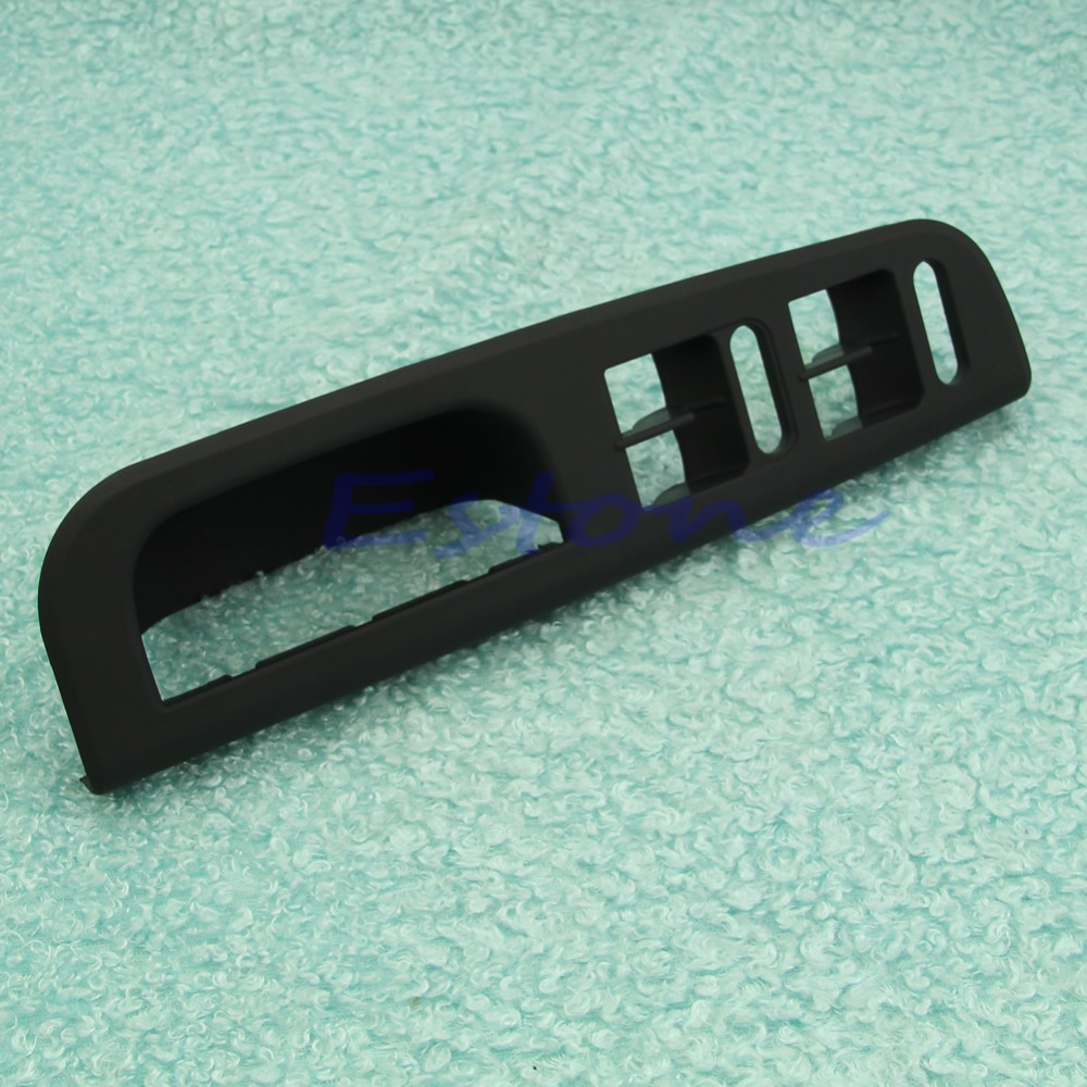 1PC Master Window Switch Control Panel Black Trim Bezel for VW Passat Jetta Golf MK4