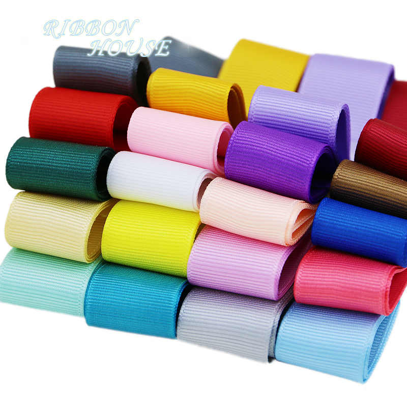 "(5 meters/lot) 1"" (25/38mm) Grosgrain Ribbon Wholesale gift wrap Christmas decoration ribbons"