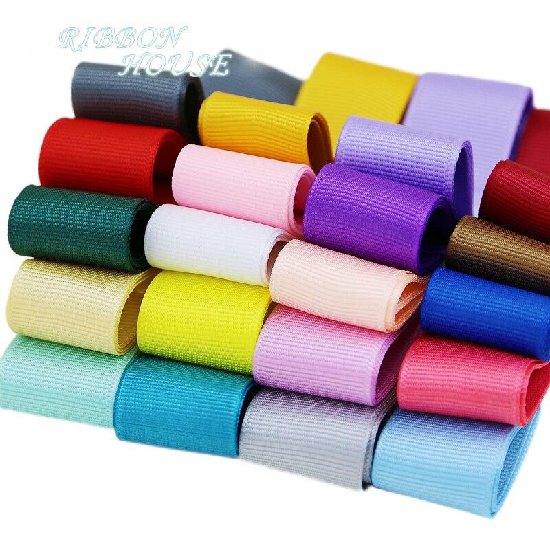 (5 м/лот) 1 «(25 мм) Grosgrain лента оптовая продажа подарок wrap Рождество украшения ленты