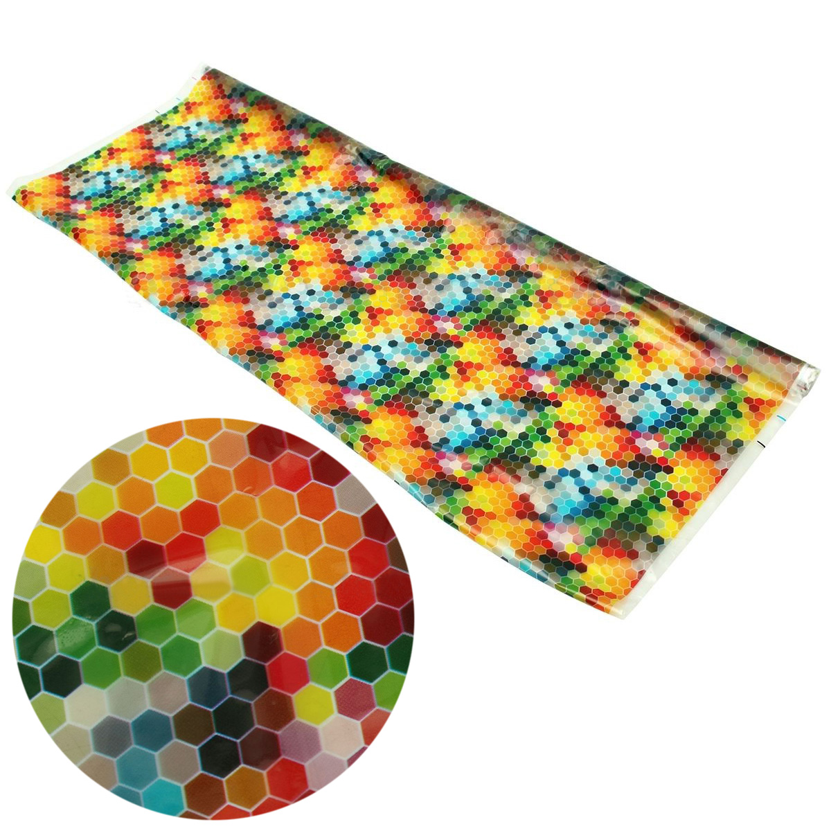 Jx Lclyl 051m Colorful Pva Water Transfer Film Dipping Japan Carbon Printing Hydrographic Hydro