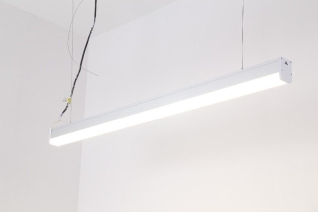 Free Shipping Cost Ceiling Light Linear Ip20 In Office Recessed Led Lighting Fixtures
