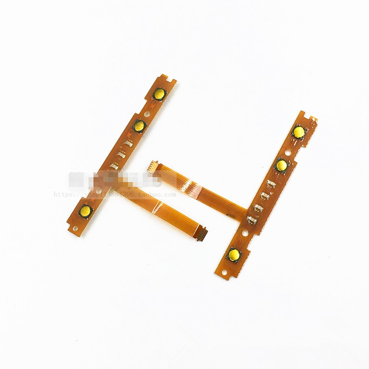 Original Switch Joycon SL SR Left & Right Button With LED Flex Cable For Nintend NS Switch Joy-Con