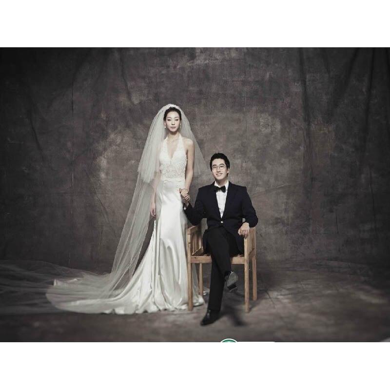 Arrière-plans de mousseline teints Pro pour Studio de Photo vieux maître peinture arrière-plan de photographie Vintage personnalisé toile de fond de mariage DM-071