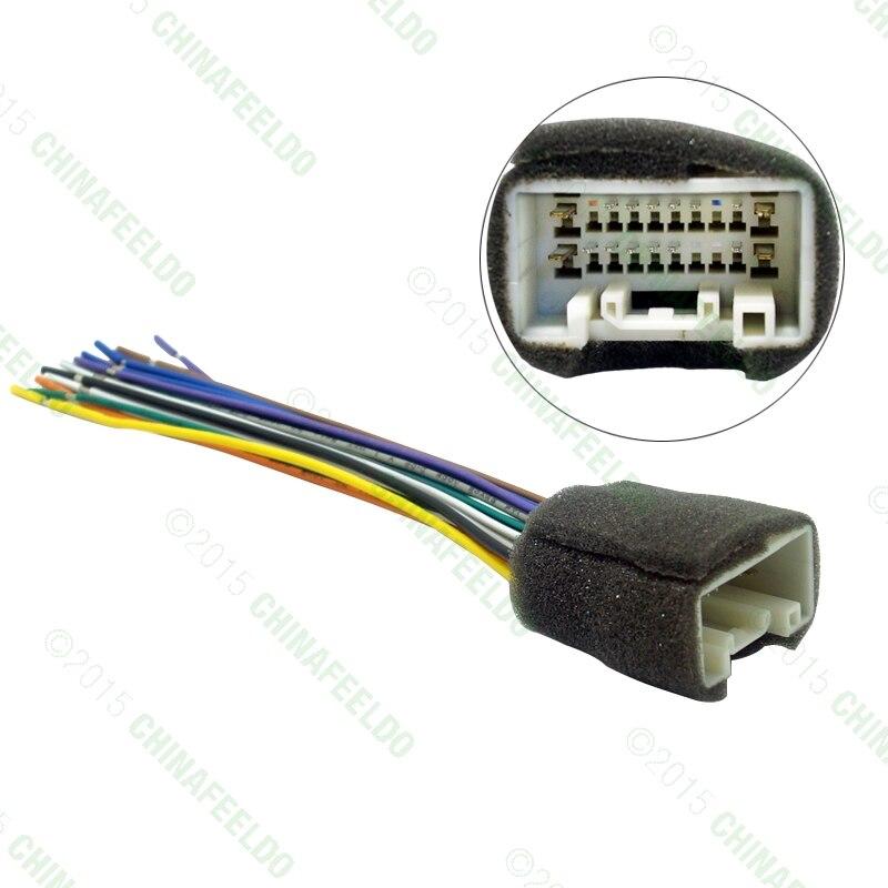 popular car radio install harness buy cheap car radio install car radio stereo wiring harness adapter for mitsubishi lancer 08~14 aftermarket installation