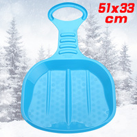 Adult Children Outdoor Ski Ski Piece Thickened Plastic Toy With A Board Piece Sliding Sand Skiing