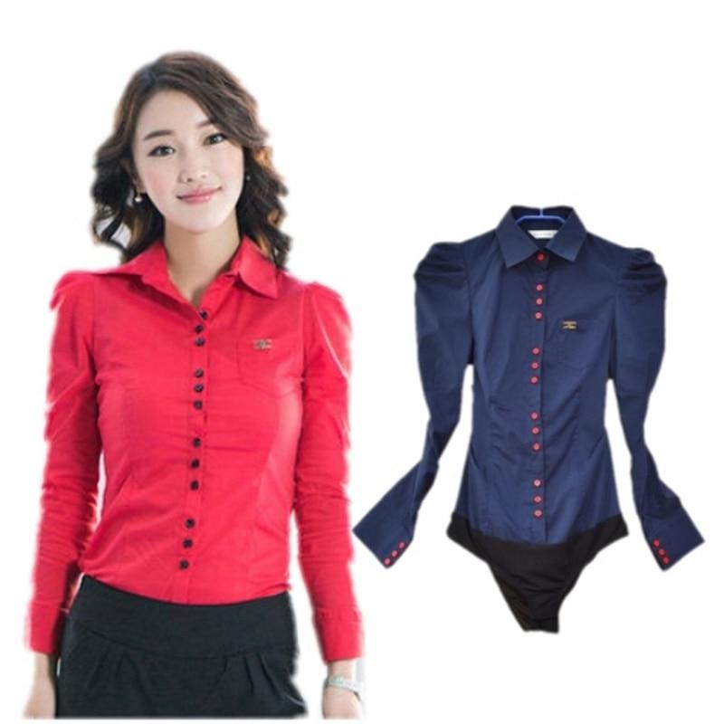 Plus size Women Blouses Fashion 2017 Spring Casual Body Shirt Long ...