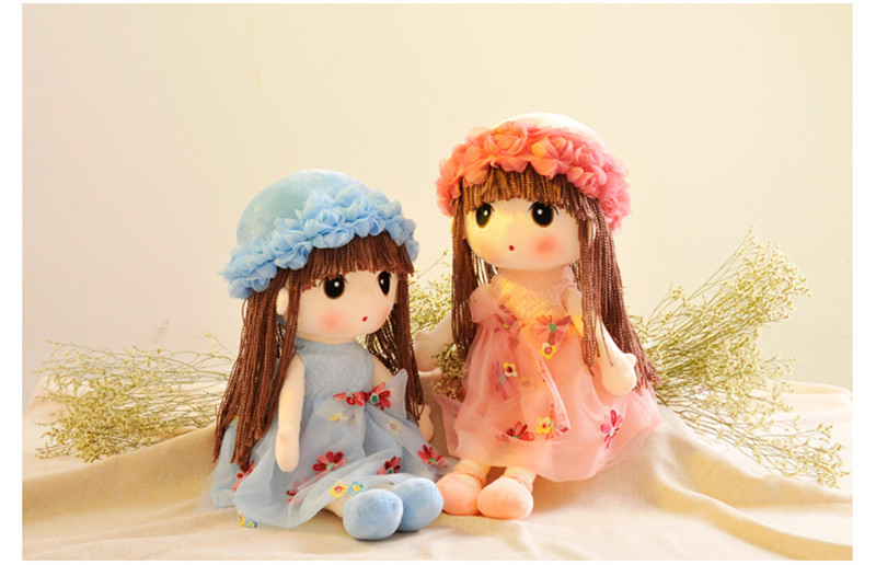 35cm Plush Toy Cute Girl Rag Doll Variety Of optional Birthday Gift Tanabata Creative Gift5