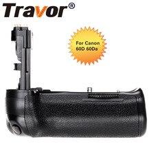 TRAVOR профессиональные multi Мощность Батарейная ручка для Canon EOS 60D 60Da DSLR Камера как BG-E9