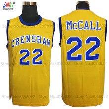 24dd32c43929 2017 Dwayne Mens Cheap Throwback Basketball Jerseys  22 Quincy McCall  Jersey Crenshaw High School Movie