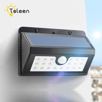 Lampe Solaire Waterproof Solar Powered Motion Sensor 20led Lamp Outdoor Fence Gate Entrance Garden Path Balcony