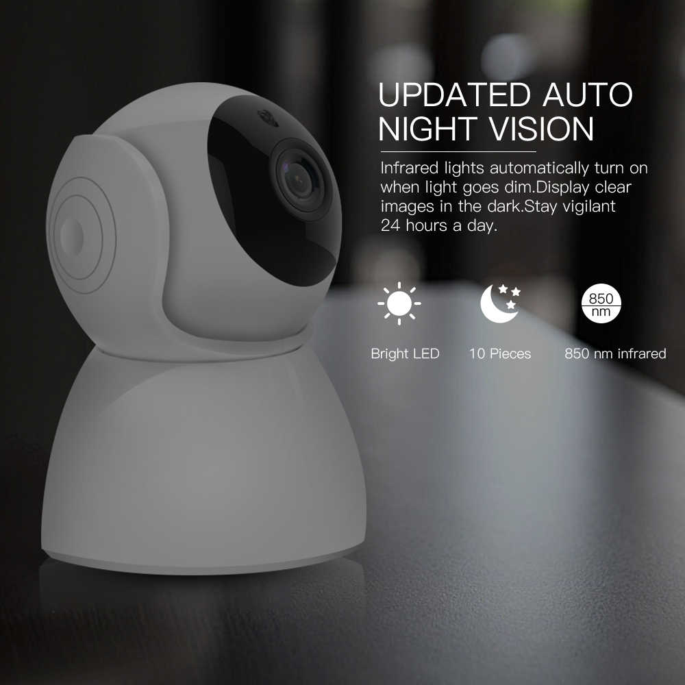 SDETER 1080P 2MP Home Security กล้อง IP ไร้สาย WIFI WIFI WI-FI กล้องวงจรปิดการเฝ้าระวัง Two WAY Audio IR Night Vision baby Monitor