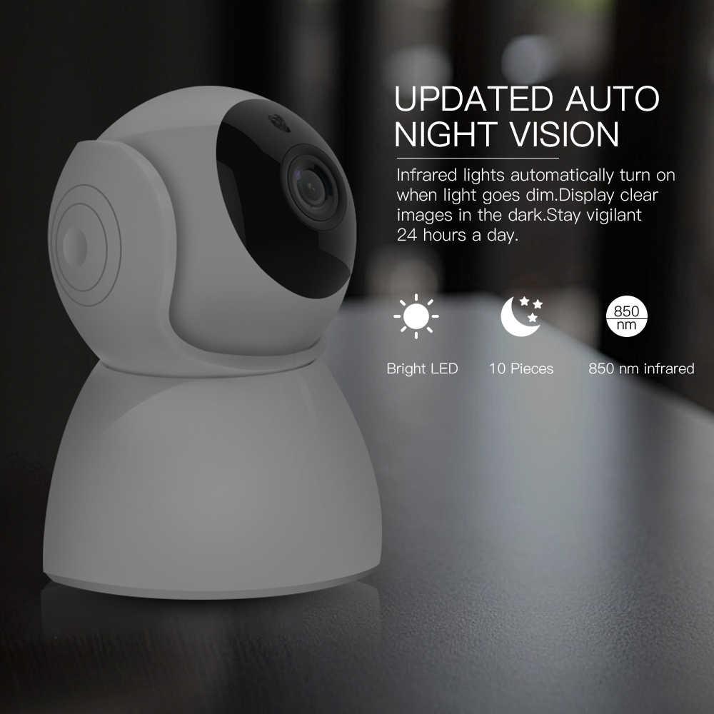 Sdeter 1080 p 2mp 가정 안전 ip 사진기 무선 wifi 사진기 wi-fi cctv 감시 양용 오디오 ir 야간 시계 아기 감시자