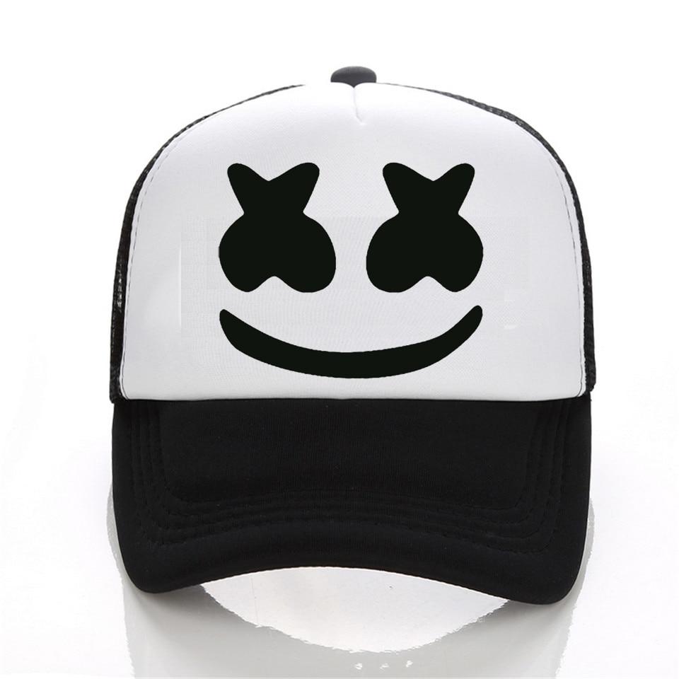 New Arrived marshmello face men baseball caps
