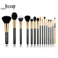 Jessup Pro 15pcs Makeup Brushes Set Powder Foundation Eyeshadow Eyeliner Lip Brush Tool