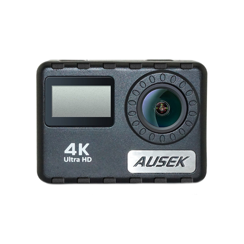 AT-36DR 4K 30FPS 170 Degree Wide Angle Ultra HD 2 Inch LCD Touch 30M Waterproof Action Camera тв модуль ci триколор k m evr единый ultra hd европа