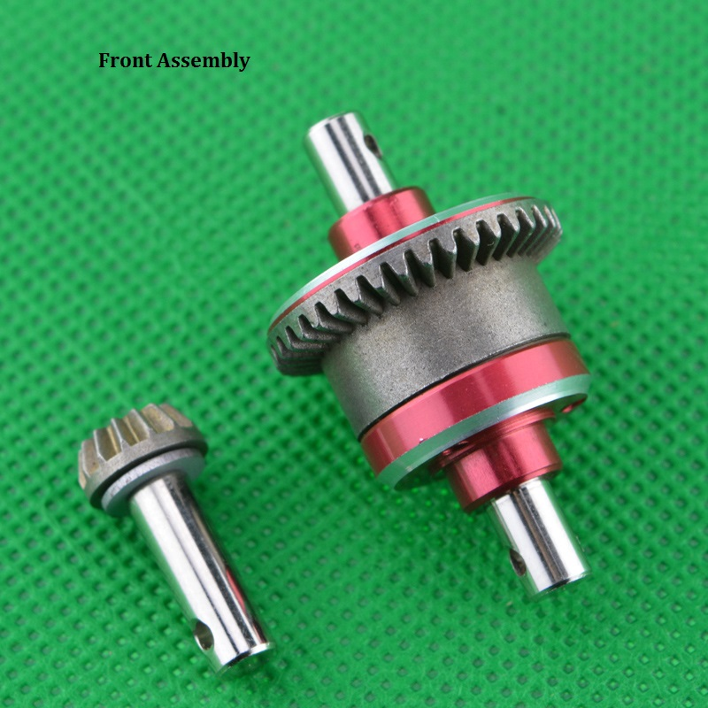 1PCS FY1/12 All Metal Front Rear Differential Assembly Rear Axle Box Metal Gear for Desert Falcon RC Car OP Modified Accessories 1 12 feiyue 1 12 fy01 fy02 fy03 rear gear box assembly fyhbx01 rc car parts