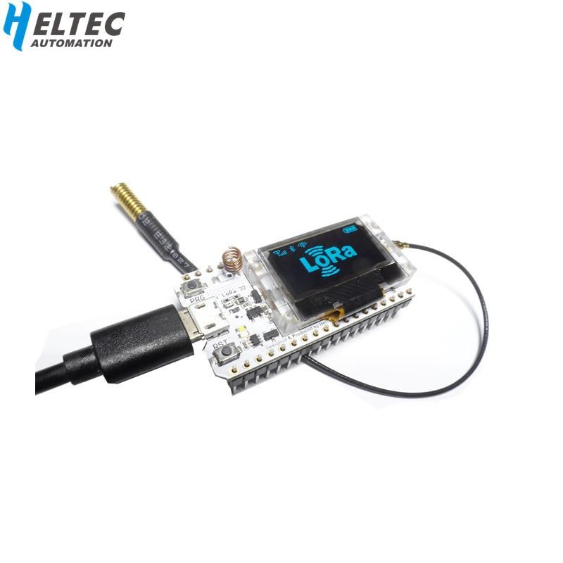 Heltec WIFI Lora Kit 32 V2 433 МГц ESP32 LoRa SX1278 esp32 0,96 дюймов OLED дисплей bluetoothмакетная плата для Arduino