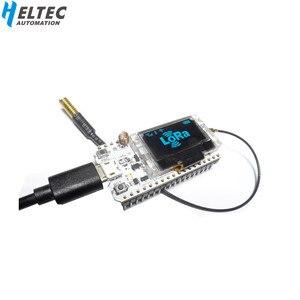 Image 1 - Heltec placa de desenvolvimento para arduino, wifi, kit 32 v2, 433mhz, esp32, bateria sx1278, esp32 0.96, tela oled, bluetooth Polegada, placa de desenvolvimento para arduino