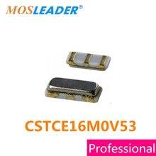 CSTCE16M0V53 Mosleader 100 PCS Cristal Ressonador 16 MHz SMD Original de Alta qualidade