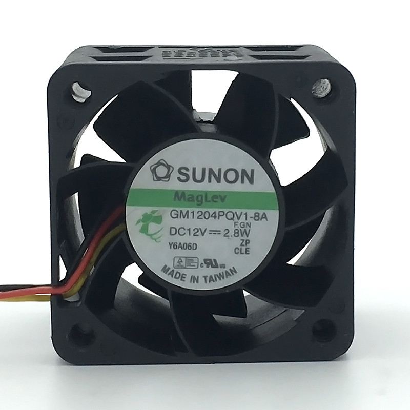 SUNON 4cm 4028 1U2U Server Cooling Ventilation Fan Blower 12V 2.8W GM1204PQV1-8A