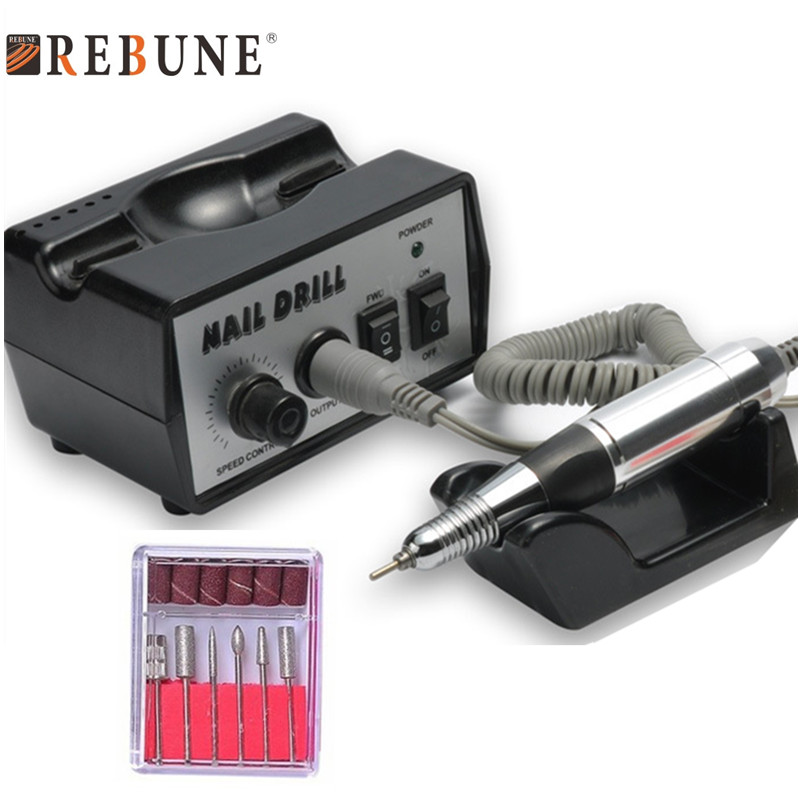 REBUNE 40W 35K RPM Electronic Nail Drill Machine Set Multifunktions - Nagel konst