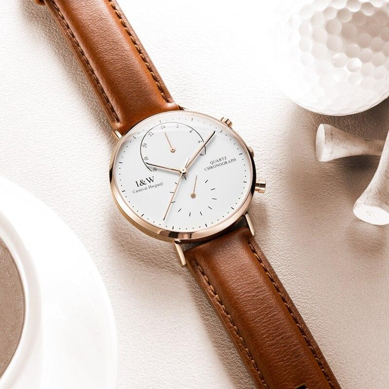 Reloj hombre 2019 Top marque de luxe suisse hommes montres étanche Ultra mince montre-bracelet mâle décontracté horloge à Quartz