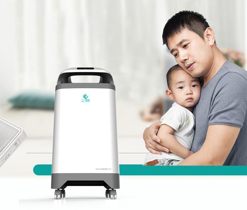 Huishouden slaapkamer luchtfilter luchtreiniger verwijder PM2.5 Air ...