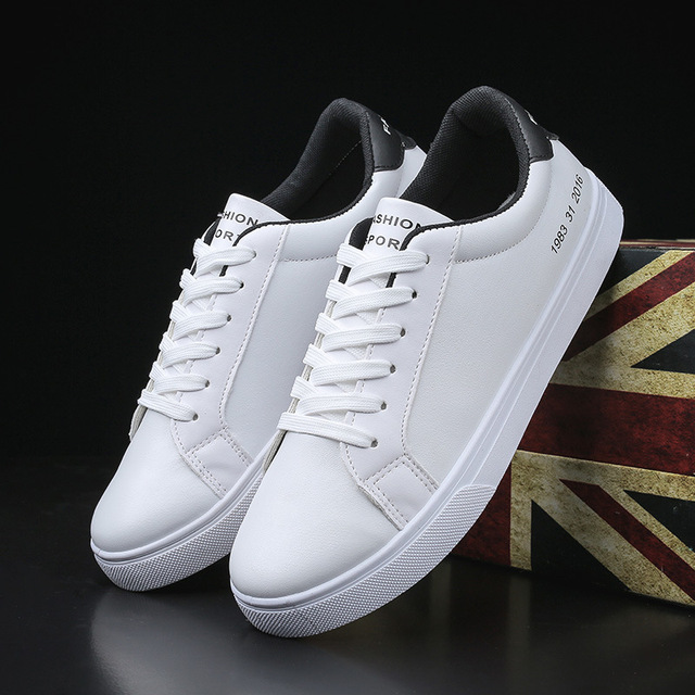 2019 Spring White Shoes Men Casual Shoes Male Sneakers Cool Street Men Shoes Brand Man Footwear KA793 1