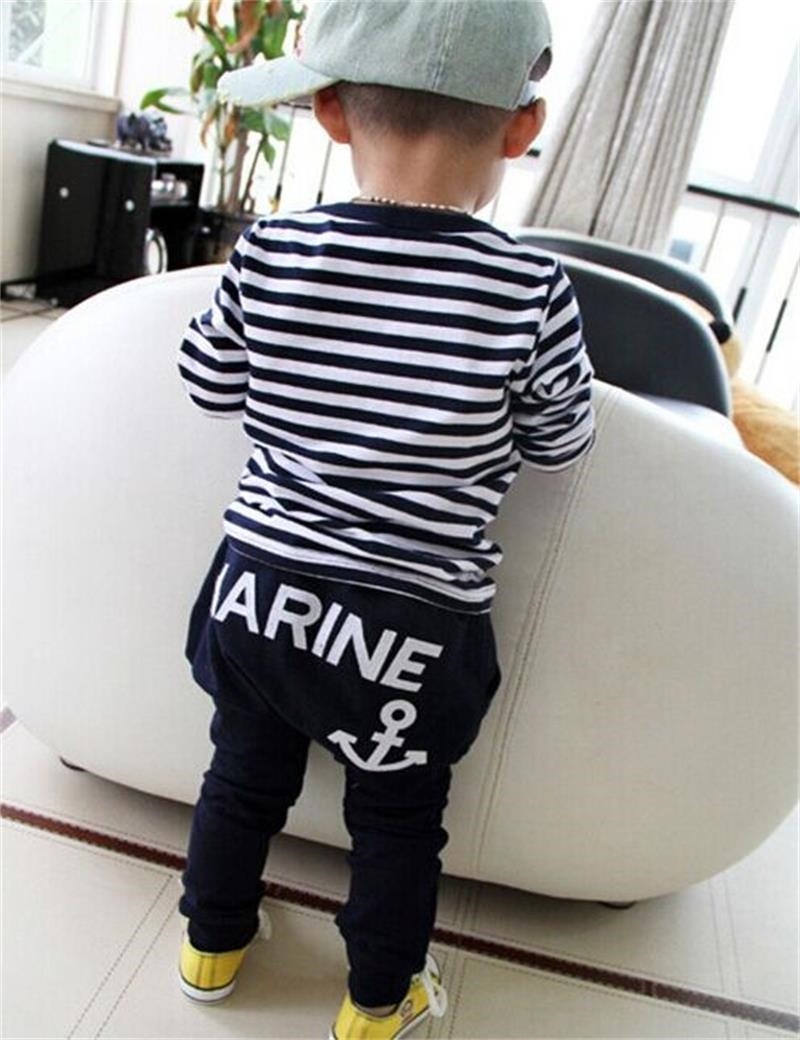 New-2017-Hot-Selling-New-Spring-Kids-Clothes-Navy-Long-Sleeve-Pullover-Striped-Sports-Suit-Casual (2)