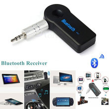 Wireless Bluetooth Car Receiver 4.1 Adapter 3.5mm Jack Audio