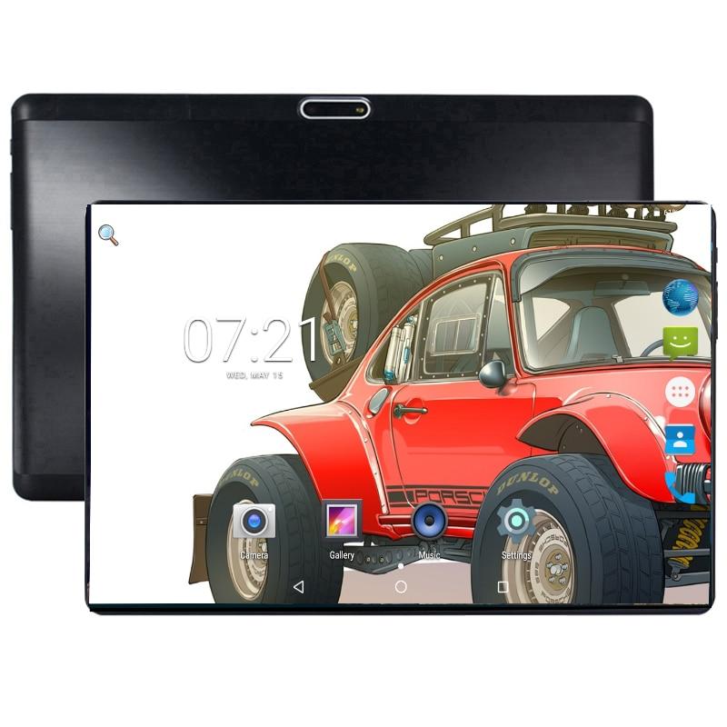 Super trempé 2.5D verre 10 pouces tablette Android Oreo Octa Core 4 GB RAM 64 GB ROM 1280*800 double SIM cartes tablettes 10.1 + cadeau