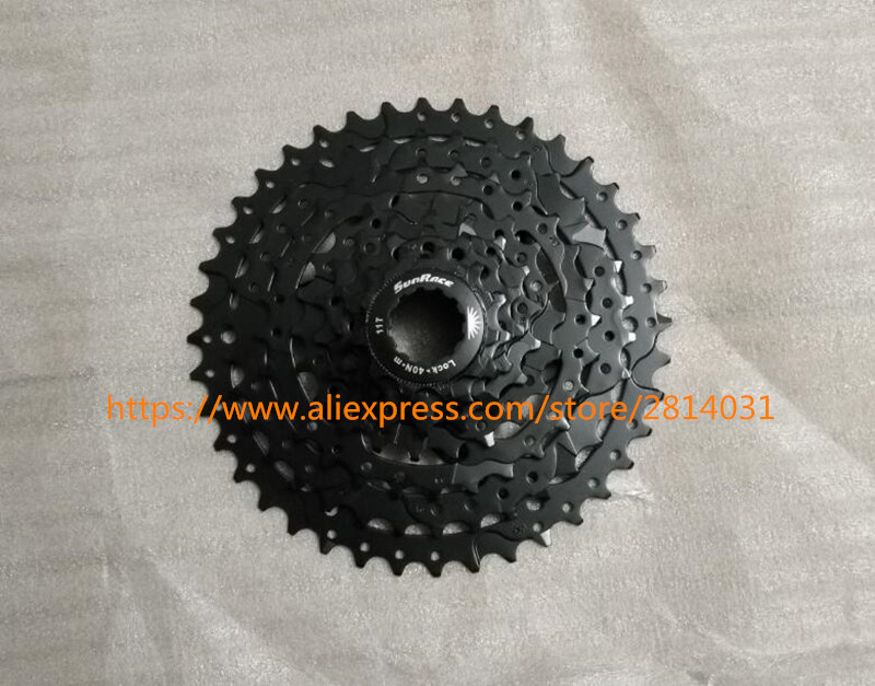 SunRace bicycle freewheel 8 Speed mtb freewheel Mountain Bicycle Cassette bicycle parts 11-40T image
