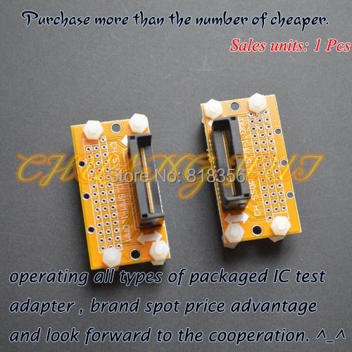 IC TEST SSOP8-SSOP86 test socket   Pitch=0.5mm   SSOP IC TEST SOCKET Width can be adjusted freely without restriction