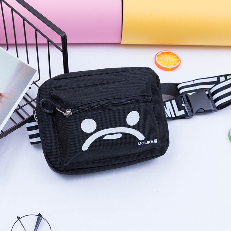 Waist Bag Women canvas Belt Bag Waist Pack Belt Wallets Fanny Chest Bags Messenger shoulder Mini minimalist Mobile phone