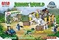 77012 Jurassic World Velociraptor Building Blocks Jurrassic Park 4 Dinosaur Bricks Toys jurassic world sets K452